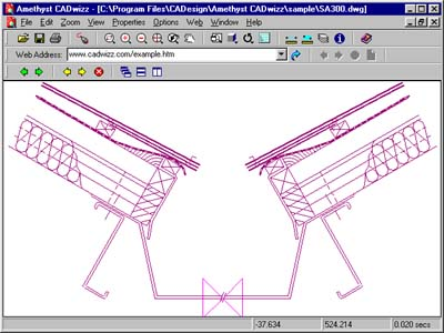 View/print/convert AutoCAD DWG/DXF. Add redlines. Create hand-drawn effects.